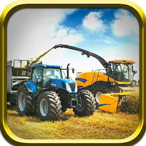 Tractor Harvester Simulator for PC and MAC