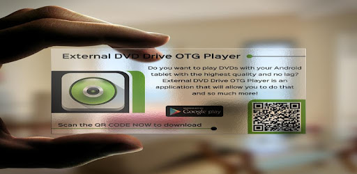 EDOTGP ( External DVD Drive OTG Player) Your source for playing DVD's on the go!
