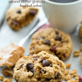 Peanut Butter Granola Breakfast Cookies