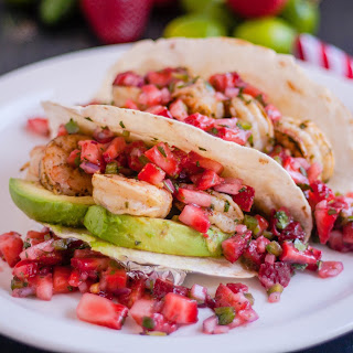 Grilled Cilantro Lime Shrimp Tacos