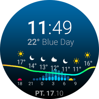 ByssWeather for Wear OS screenshots