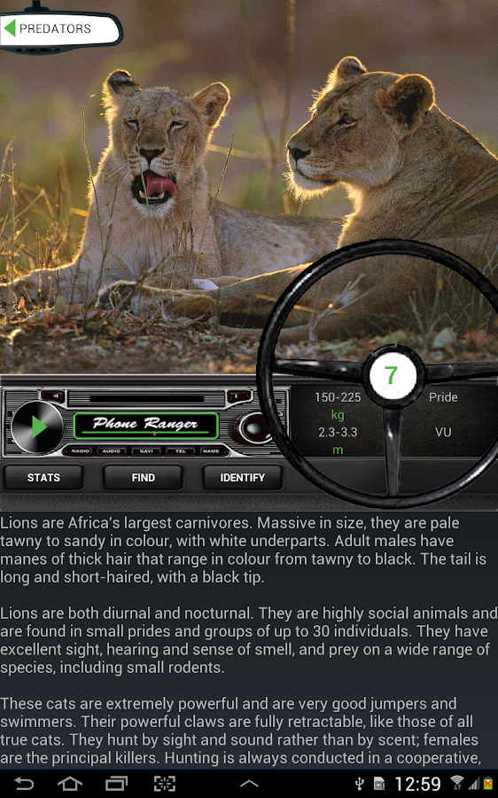 Africa: Live Safari Sightings- screenshot
