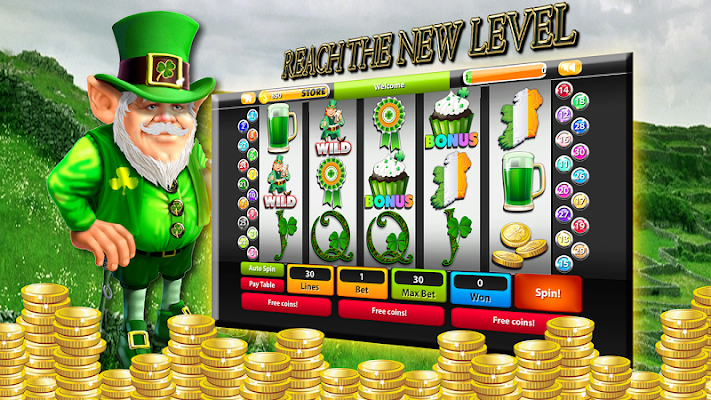 "Irish ""Lucky Eyes"" Slot Pokies - screenshot"