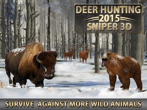 Deer Hunting u2013 2015 Sniper 3D  {cheat|hack|gameplay|apk mod|resources generator} 2