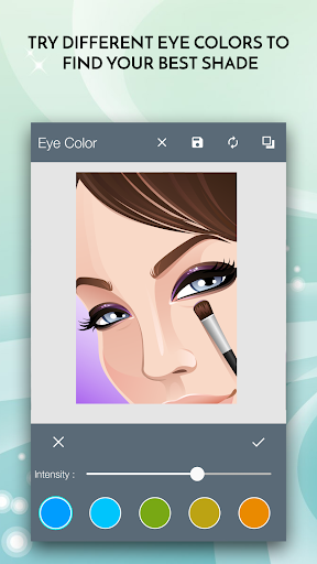 玩免費遊戲APP|下載Face Makeover: EyeLens Changer app不用錢|硬是要APP