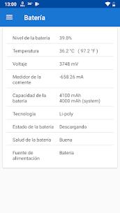 CPU X Premium: Información del dispositivo y del sistema 3