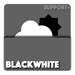 BlackWhite weather komponent