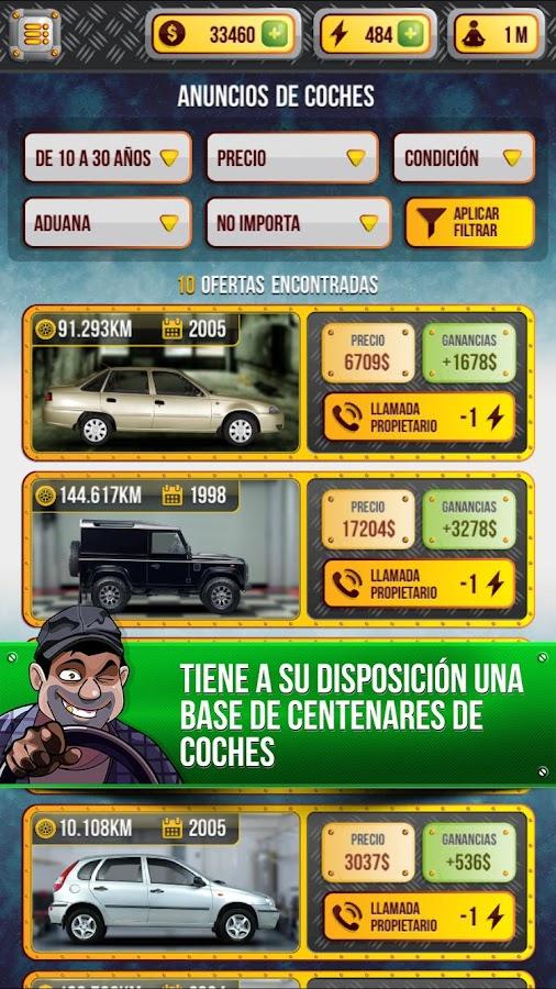 Dealer de coches Simulador