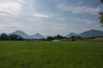 Photo: Opuszczam definitywnie Alpy. Od teraz przemierzam Bawarię.