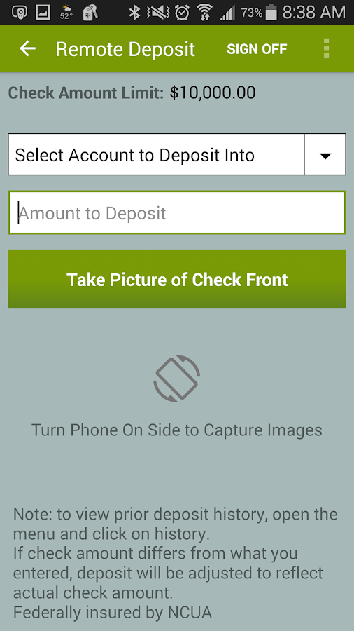 Salal CU - Mobile Banking- screenshot