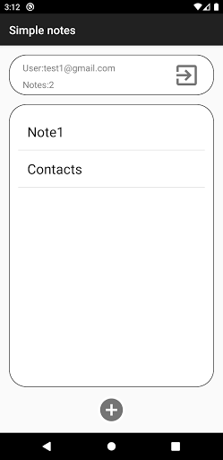 Simple Notes screenshot 1