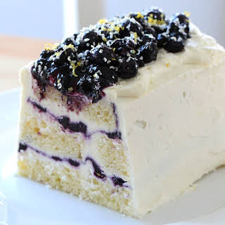 Blueberry Lemon Icebox Cake.