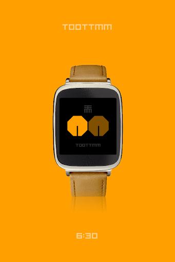 【免費生活App】TOOTTMM - watchface to Wear-APP點子
