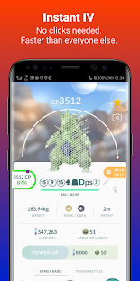 Calcy IV - Instant IV, PvP Ranks & Raid-Counter Screenshot