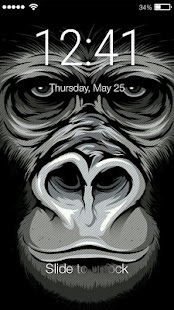 Monkey Lock Screen - náhled