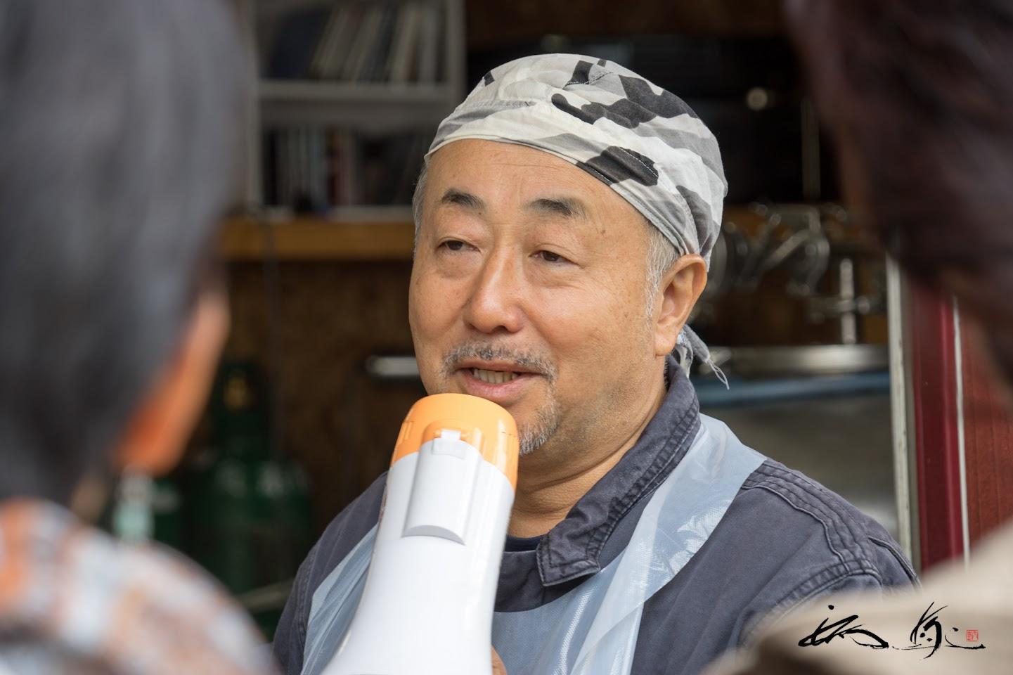 亀和田俊一さんのお話