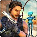 Alien Invasion Sniper Shooting Games : Survival icon
