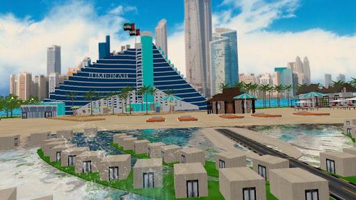 虛擬現實迪拜朱美拉海灘旅行