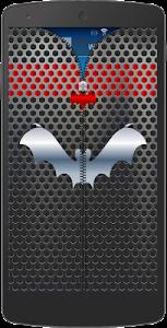 Metal Bat Zip Screen Lock screenshot 11