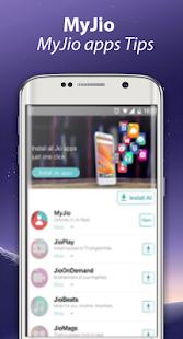 New MyJio App Pro Tips 2017 - náhled