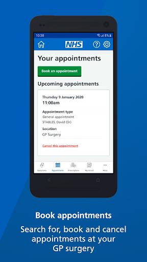 NHS App screenshot 3