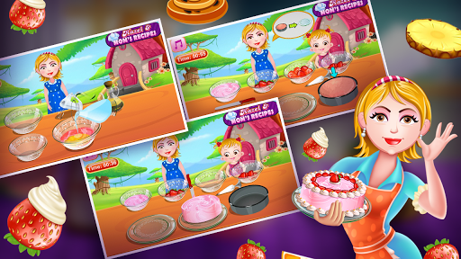 Hazel & Mom's Recipes - Strawberry Cake  screenshots 2