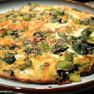 Asparagus & Spinach Frittata