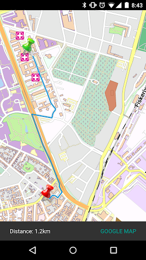 Perpignan - France Offline Map