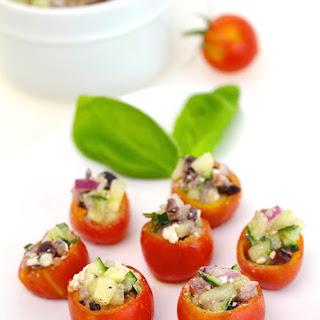 Greek Tomato Bites