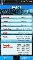 Screenshot of Bolivar AKD liga Boliviana