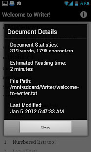 Writer - Apps on Google Play