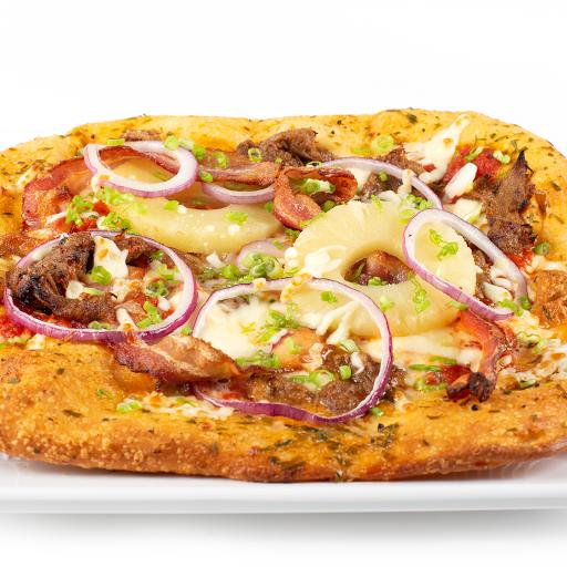 Fancy Hawaiian Pizza