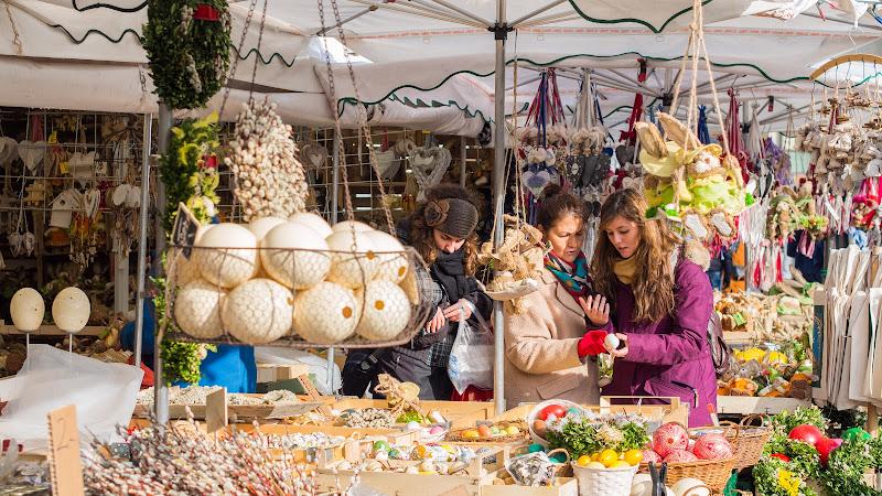 Shopping ai mercatini di Natale di Fabien