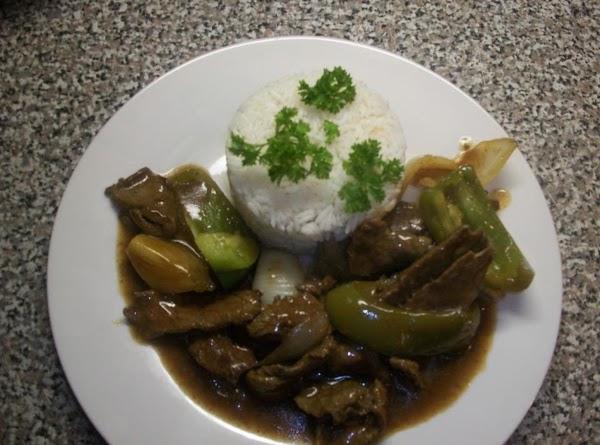 Homestyle Pepper Steak Recipe