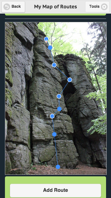 Climber's Routes- screenshot