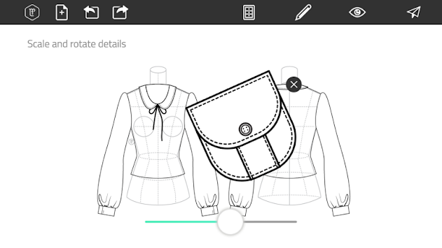 Fashion Design Flat Sketch APK screenshot thumbnail 4
