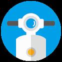 機車小幫手 (保養/油耗/油價/機車行/加油站/定檢站) icon