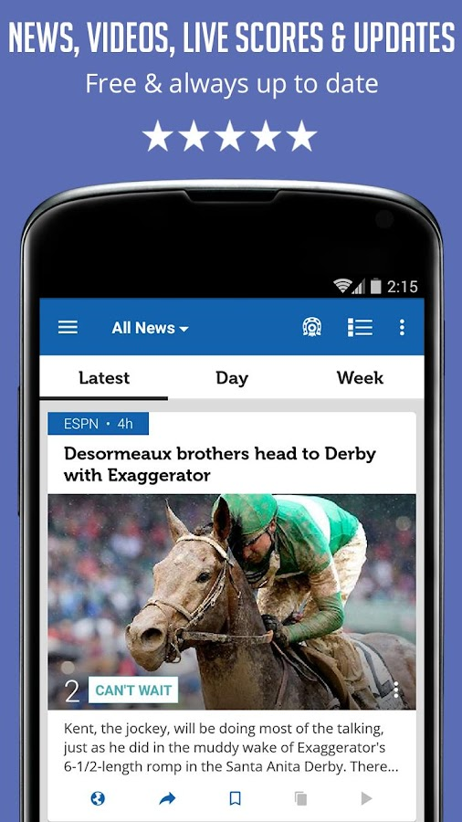 Horse Racing News - SF- screenshot