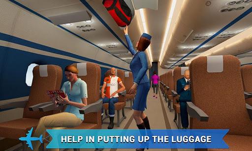 Airplane Flight Attendant -Career Job Sim  screenshots EasyGameCheats.pro 3