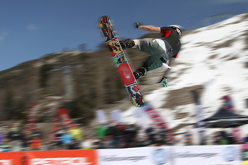jump with a snowboard by Dominik Konjedic - Sports & Fitness Snow Sports