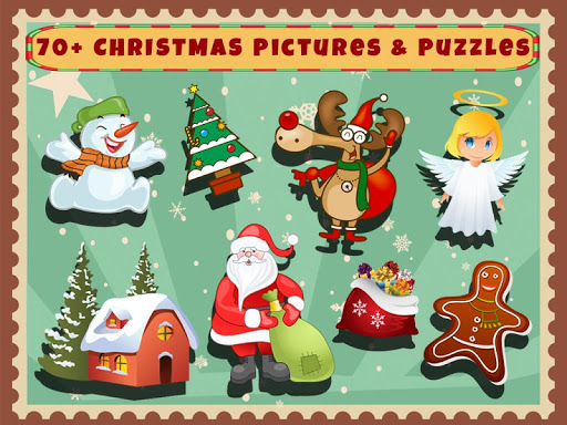 Christmas Shapes Puzzles
