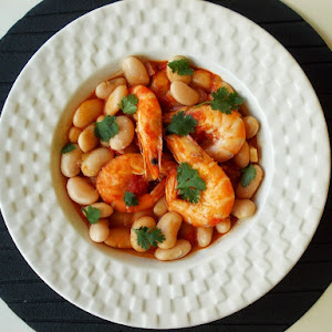 Beans (Feijocas) With Shrimp