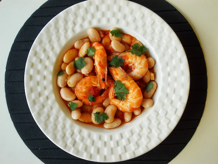 Beans (Feijocas) With Shrimp