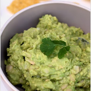 White Bean Avocado Guacamole Dip