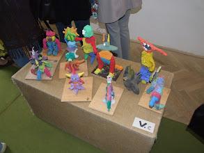 Photo: Kis szobrászok alkotásai