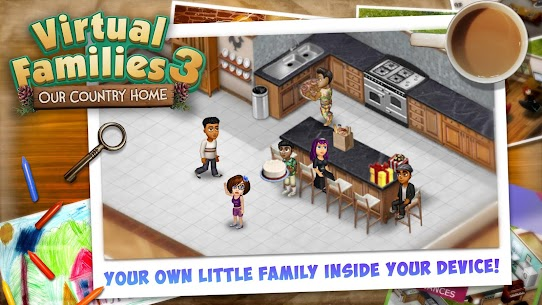 Virtual Families 3 Mod Apk (Unlimited Money) 1