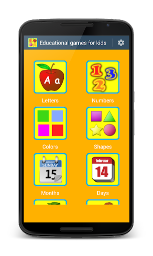 Educational Games for Kids Apk 1