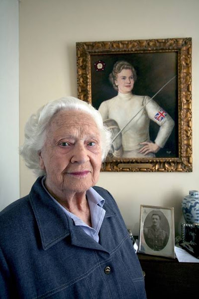 Photo: Photo essay: Britain's 1948 Olympians today  To mark the London 2012 Olympics Katherine Green turned her camera on athletes who competed the last time the Games were held in the British capital. Here she explains why:  Read the full story at http://ind.pn/LKqLAW Picture credit: Katherine Green