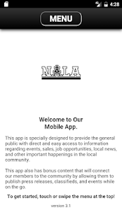 NALA Mobile App- screenshot thumbnail