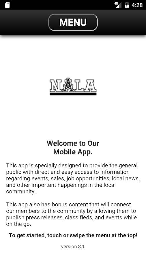 NALA Mobile App- screenshot